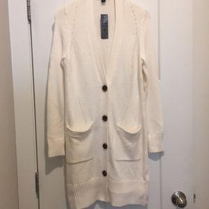 Cream Cardigan,Size-SP,New